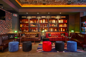 Churchills bar in Melrose Arch takes inspiration from an upmarket British eatery