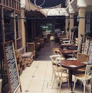 The exterior section of Escondido Tapas And Wine in Illovo