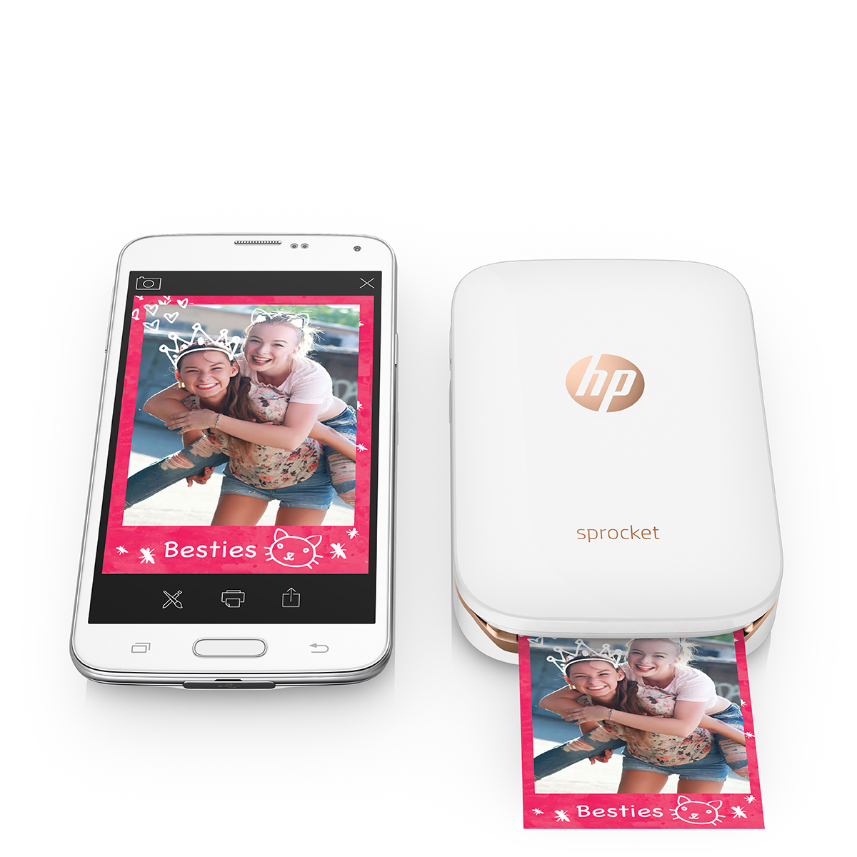 Sandton Magazine Win A HP Sprocket Portable Photo Printer