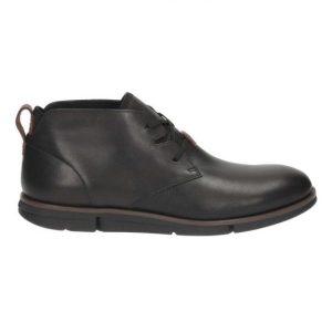 Clarks Trigen Mid - Black Leather, R2,990