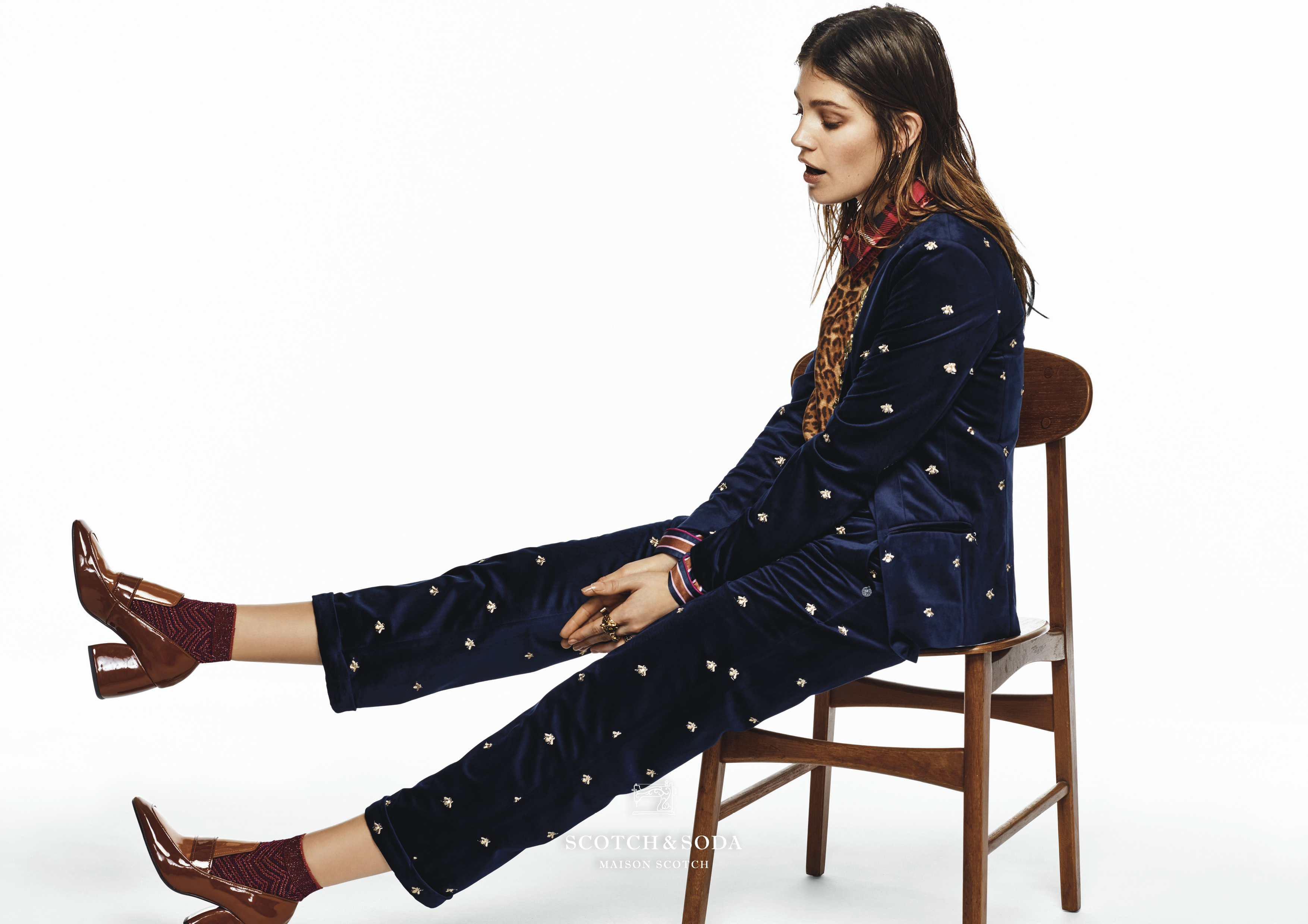 Nautical prints find their way in Scotch & Soda's winter collection