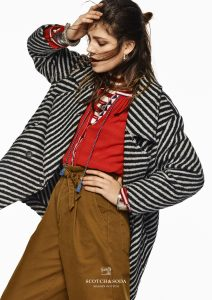 Tibetan prints and fabrics inspire the new Scotch & Soda collection