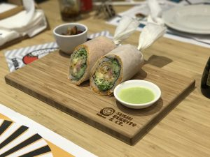 Sushi Burrito & Co is a new concept for sushi lovers