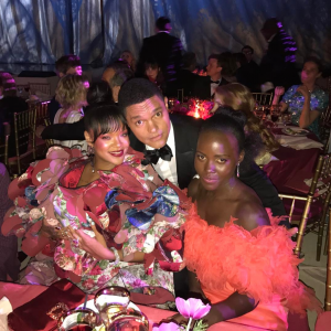 Trevor Noah rubbed shoulders with Lupita and Rihanna at this year's Met Gala
