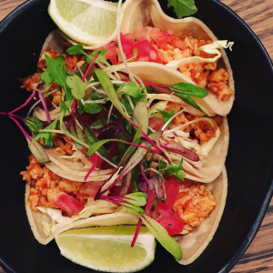Lima Tapas Bar's famous tacos are great for starters